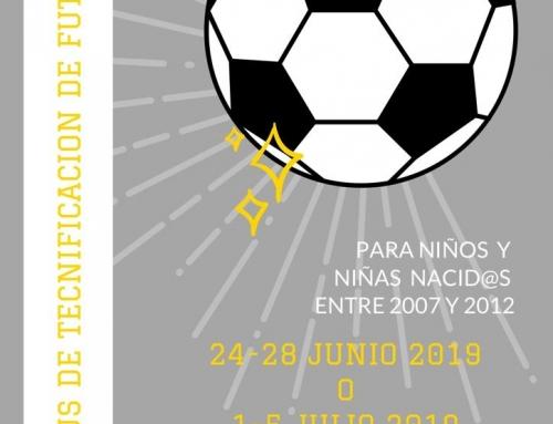 Campus tecnificación de fútbol