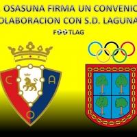 C.A.OSASUNA firma convenio de colaboración con S.D.LAGUNAK