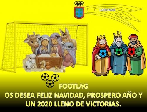 Footlag os desea Feliz Navidad y próspero año nuevo