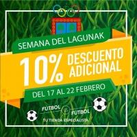 Semana del Lagunak en Fútbol es Fútbol